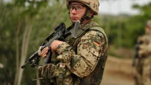Vier deutsche Soldaten getötet