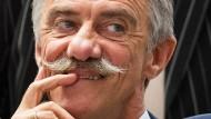 Uwe Junge, Fraktionsvorsitzender der AfD in Rheinland-Pfalz, während einer Sitzung des Landtags