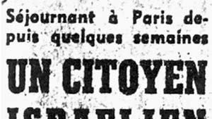 "Pariser Zeitung ""France Soir"" am 5. April 1952"