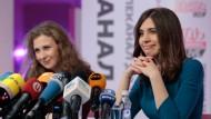 Pussy-Riot-Musikerinnen wollen russische Gesellschaft verändern