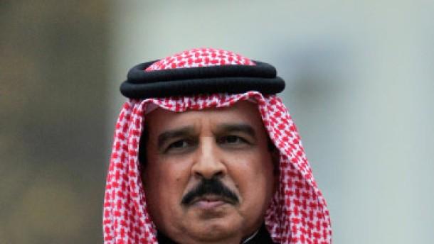 Der König von Bahrein