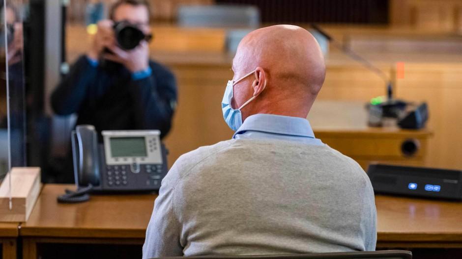 Schuldig: Der frühere KSK-Soldat S. vor dem Landgericht Leipzig am Freitag