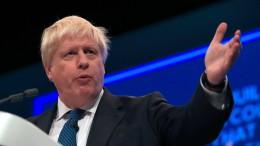"""Boris Johnson über Libyen: Erst müssen """"die Leichen weggeräumt werden"""""""