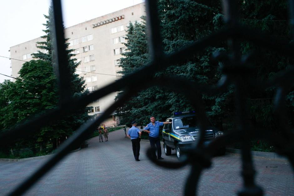 Im Außenbezirk: Das Krankenhaus in dem Julija Timoschenko behandelt wird