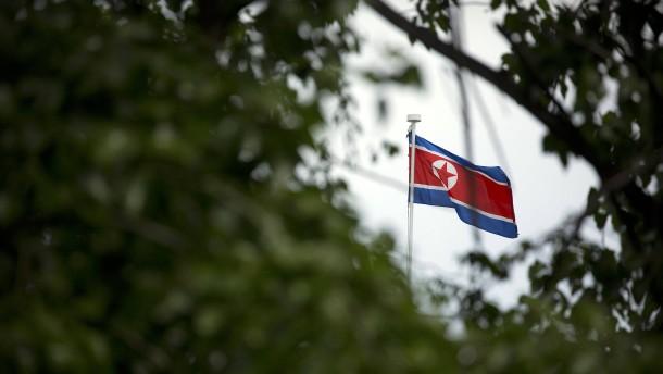 """Nordkorea droht mit """"gewaltigem Präventivschlag"""""""