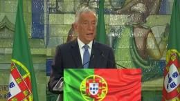 Portugals Präsident wiedergewählt