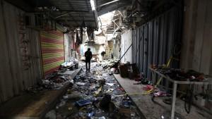 IS bekennt sich zu Anschlag in Bagdad