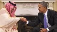 Obama beschwört Freundschaft mit Saudi-Arabien