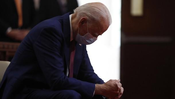 Moralpredigt für Biden