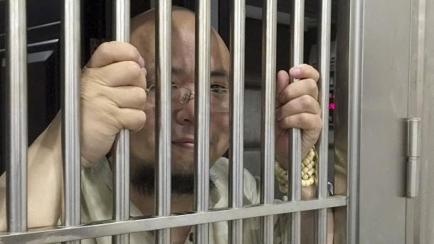 Acht Jahre Haft für chinesischen Regierungskritiker