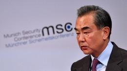 """""""Alle Beschuldigungen gegen China sind Lügen"""""""