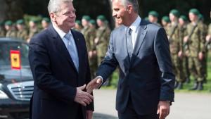 Gauck: Bei Einwanderung keine Mauern bauen