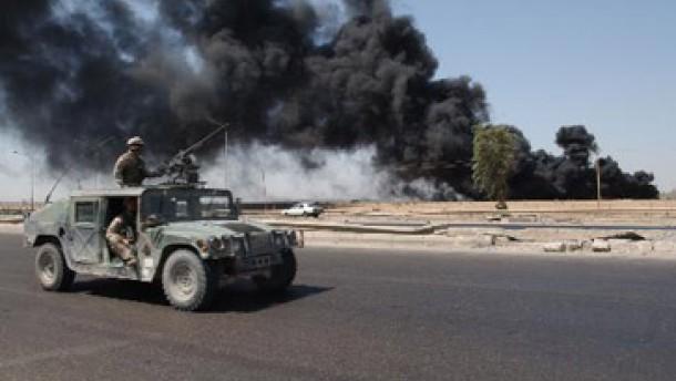 Anschläge auf Ölleitungen im Irak