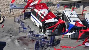 Mehr als 30 Verletzte bei Selbstmordanschlag