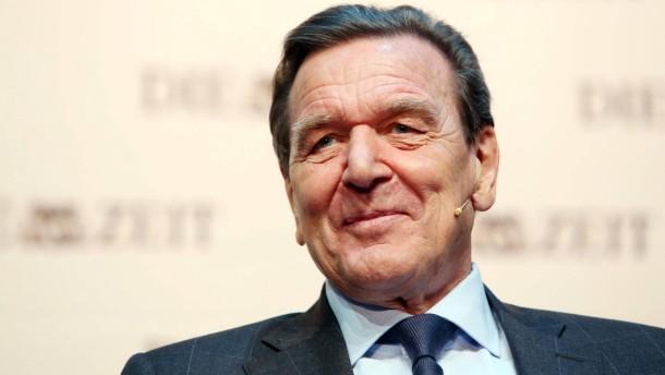 """Gerhard Schröder bei """"Zeit""""-Matinee"""