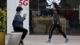Klare Kante gegenüber Peking