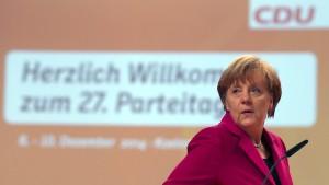 Der Kanzlerin droht eine Kampfabstimmung