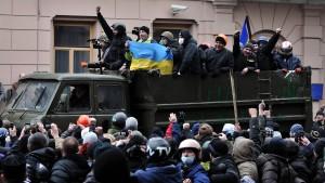Flucht aus Kiew