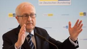 Brüderle will bis 2019 Solidaritätszuschlag abschaffen