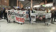 Protest gegen Abschiebungen