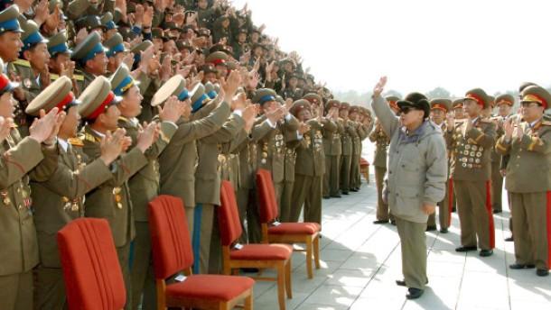 Brief Nach Nordkorea : Nach un resolution nordkorea droht unbeirrt mit der
