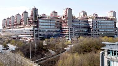 Ein Ort für schlechte Scherze: Die Universitätsklinik in Aachen