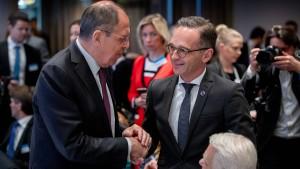 Maas ruft Russland zu Dialogbereitschaft auf