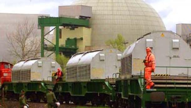 Proteste bei Atommülltransport nach Frankreich