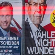 Einer wird gewinnen: Norbert Hofer (FPÖ) und Alexander Van der Bellen (Grüne) auf Wahlplakaten in Wien