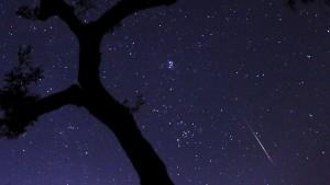 Sternschnuppe über Griechenland: Camaras größter Wunsch blieb aber bisher unerfüllt