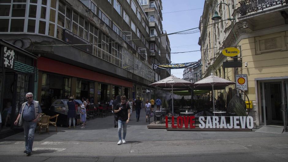 26 Jahre Frieden nach einem verheerenden Bürgerkrieg: Die bosnische Hauptstadt Sarajewo.