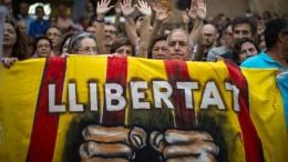 Katalanischen Separatisten drohen bis zu 15 Jahre Haft