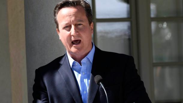 Cameron: Juncker wurde von niemandem gewählt