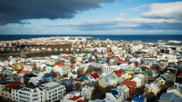 Trotzige Zuversicht in Island