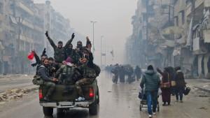 Rebellen einigen sich mit Regime auf Evakuierung aus Aleppo