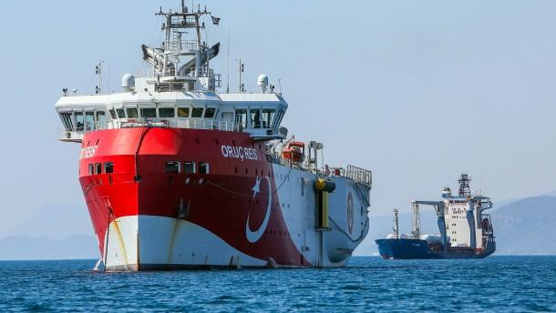 Türkei entsendet Forschungsschiff ins östliche Mittelmeer