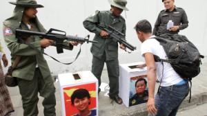 Militärpartei erklärt sich zum Wahlsieger