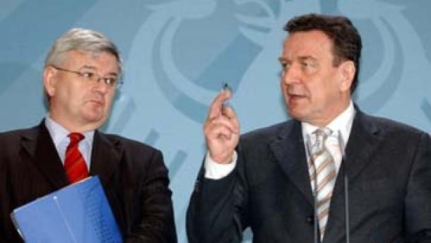 Nur Fischer soll Schröders Geheimnis erfahren