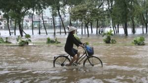 Mehr als 100 Tote bei Hochwasser in Vietnam