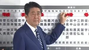Abe kann Verfassungsreform angehen