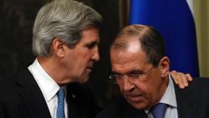 Russland und Amerika planen Syrien-Konferenz