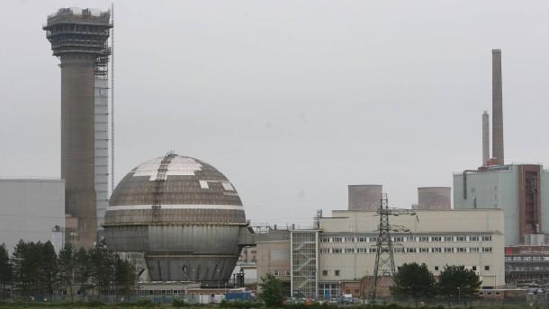 Ungewöhnlich hohe Radioaktivität in Sellafield