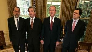 Bush betont Bedeutung einer starken EU