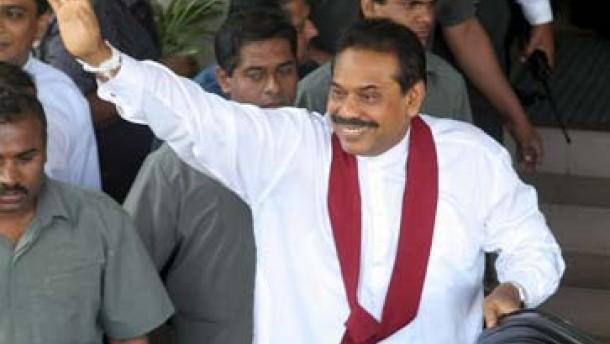 Rajapakse gewinnt Wahl in Sri Lanka