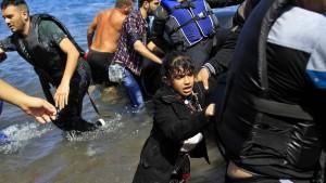 Viele Kinder ertrinken in der Ägäis