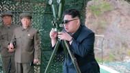 Nordkorea misslingt offenbar Raketenstart