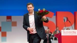 SPD-Parteitag wählt Lars Klingbeil zum neuen Generalsekretär