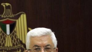 Abbas ist schrecklich müde