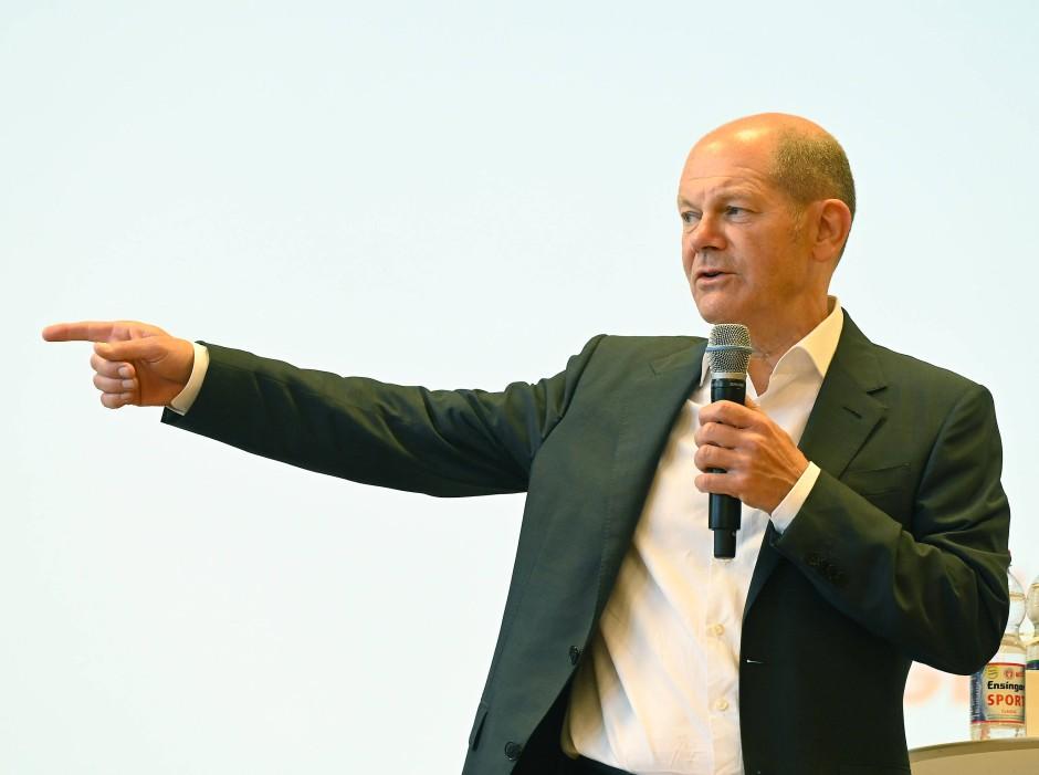 Nicht zu genau festlegen: In puncto Linkspartei bleibt SPD-Kanzlerkandidat Olaf Scholz vage.