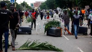 Schüsse auf Demonstranten in Lagos